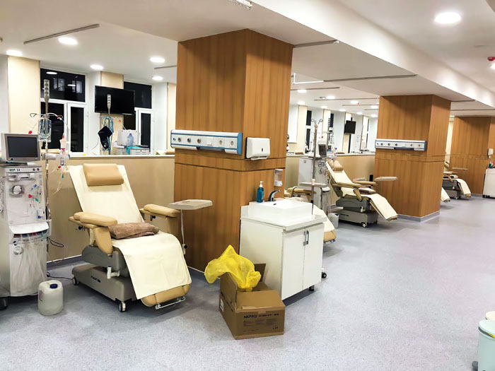 Se ha completado el Hospital de Diálisis de Mongolia