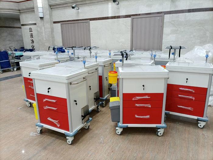 Carros médicos para el Hospital Suzhou