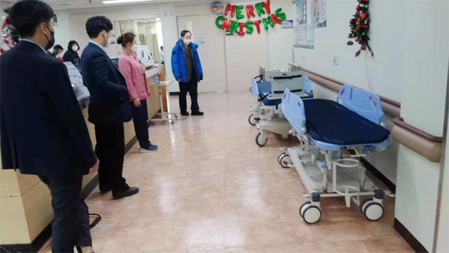 Camillas de pacientes para hospitales coreanos