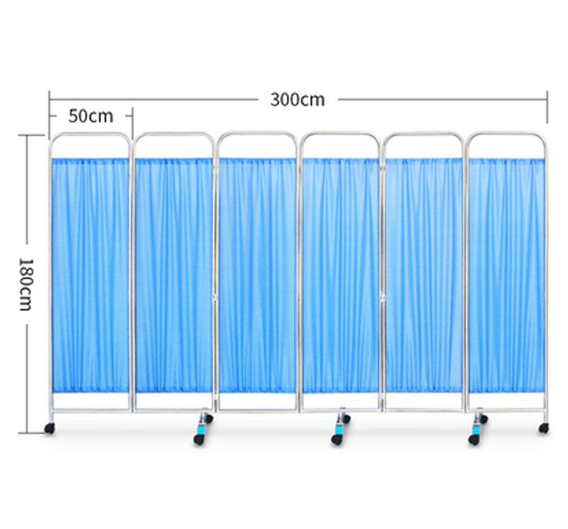 MK-N01 Biombo médico móvil para separación de pacientes