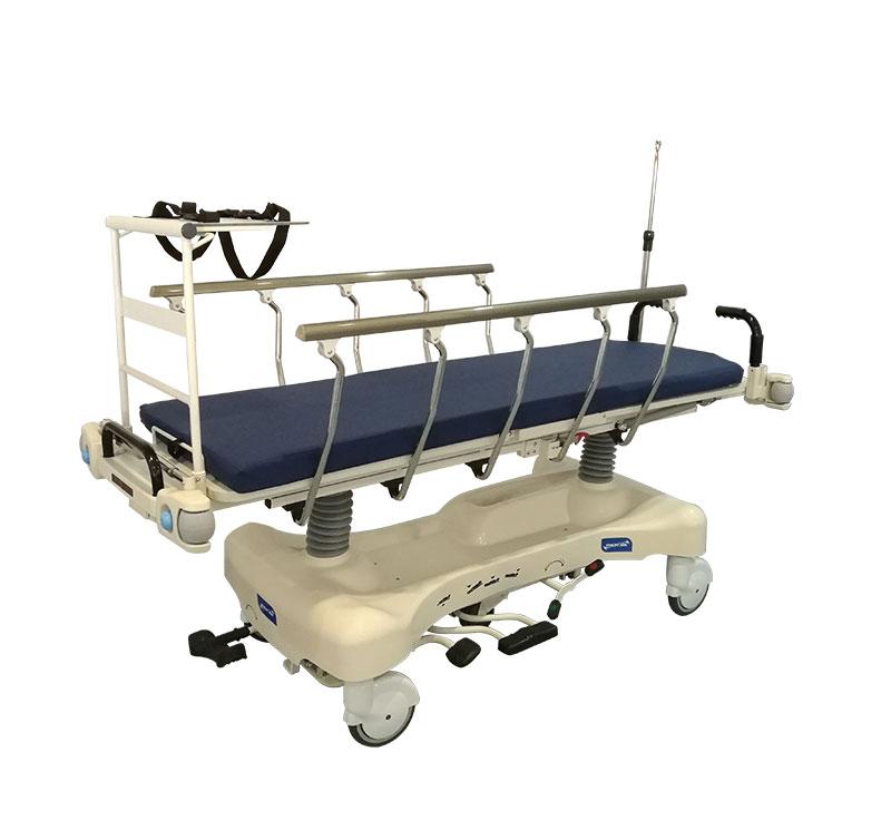 Camilla de transporte hidráulico de altura variable con respaldo regulable YA-PS02