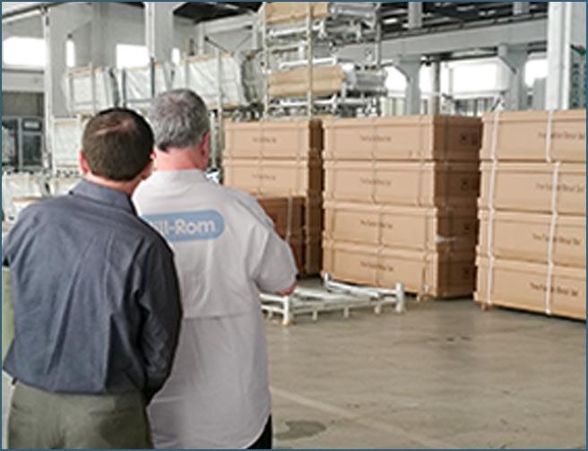 El gigante de la marca internacional más importante viene a nuestra empresa para la comunicación del servicio OEM.