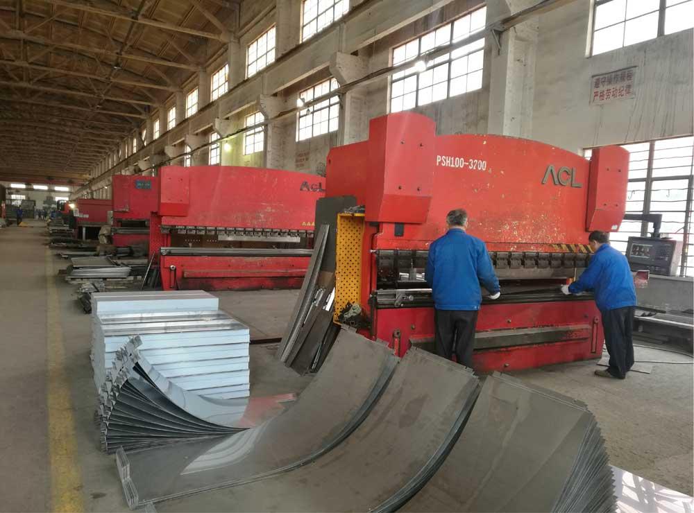 Centro de fabricación de metales
