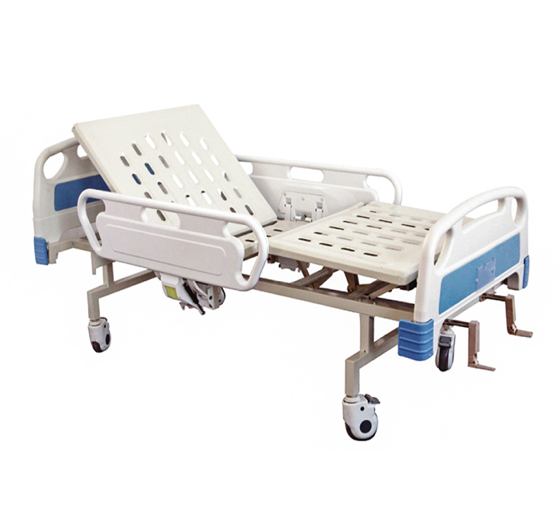 Cama de hospital manual de 2 posiciones YA-M2-4