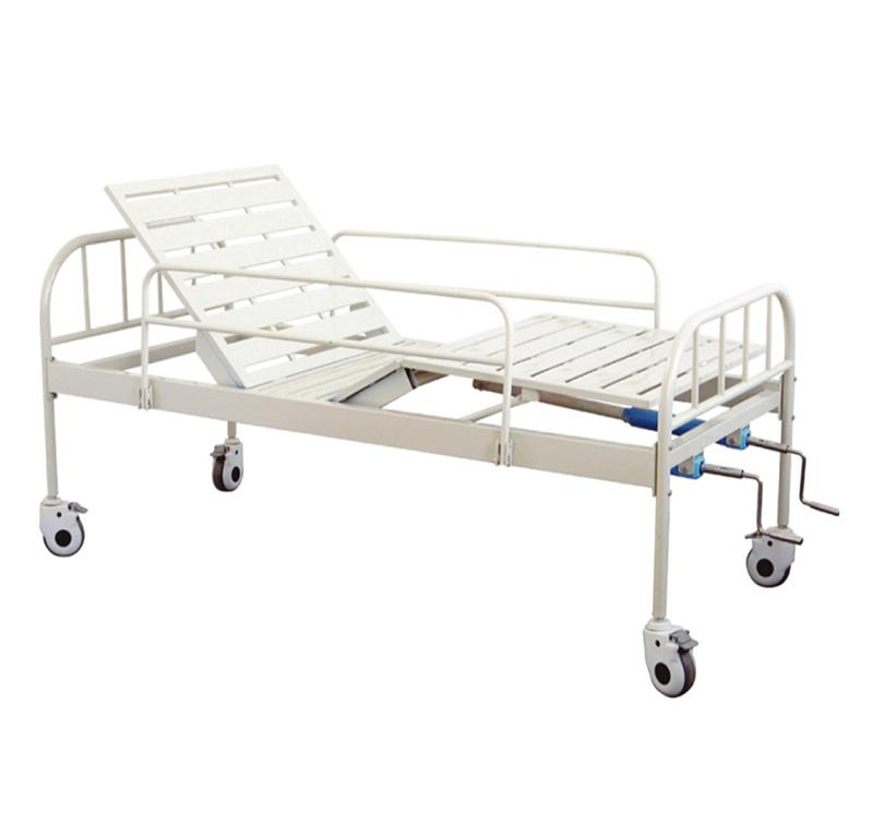 Cama de hospital manual de 2 movimientos YA-M2-5