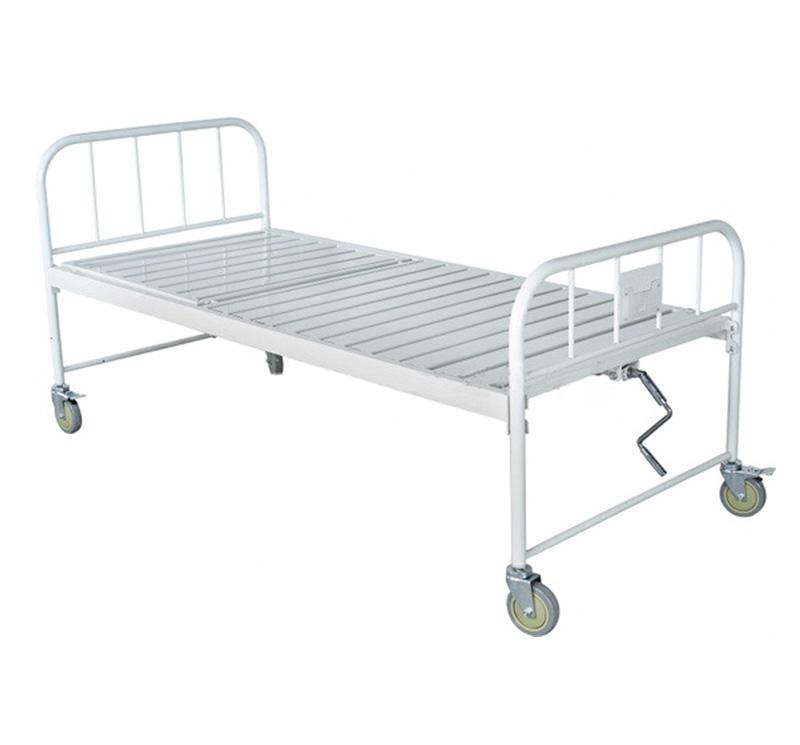 Cama de hospital manual económica YA-M1-2