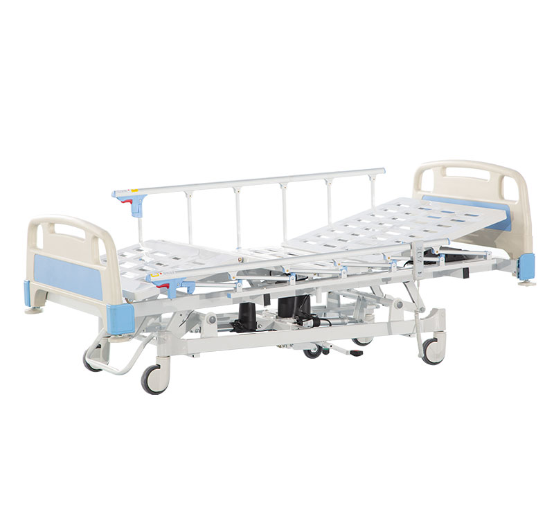 YA-D5-8 Electric Hospital Bed With Central Locking Steer Function