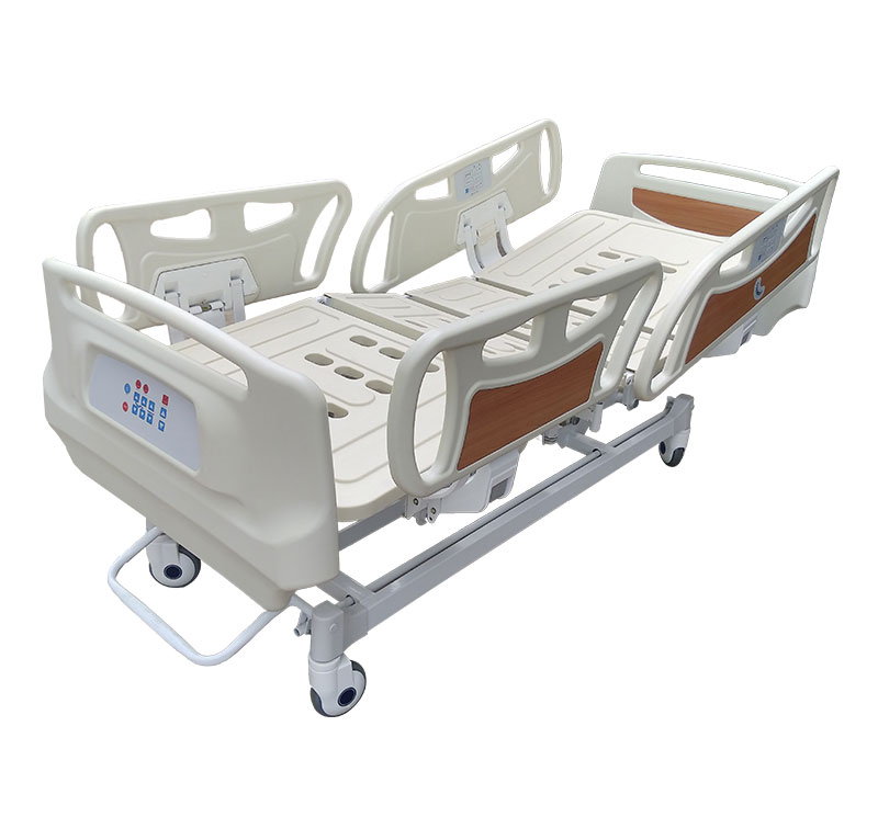 YA-D5-3 Economic Five Function Medical Electric Bed With Railing Control