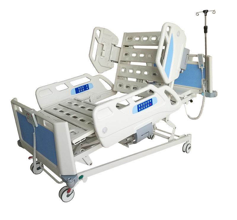 YA-D6-1 Electric ICU Hospital Bed With Embedded Railing Control