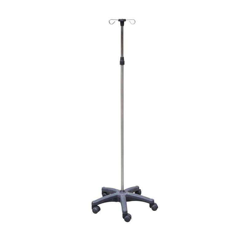 Porta suero base quintuple nylon MK-IS01