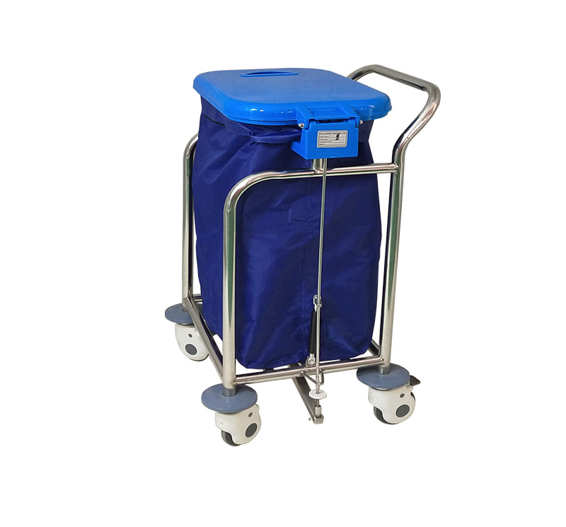Carro ropa sucia 1 bolsa MK-S17
