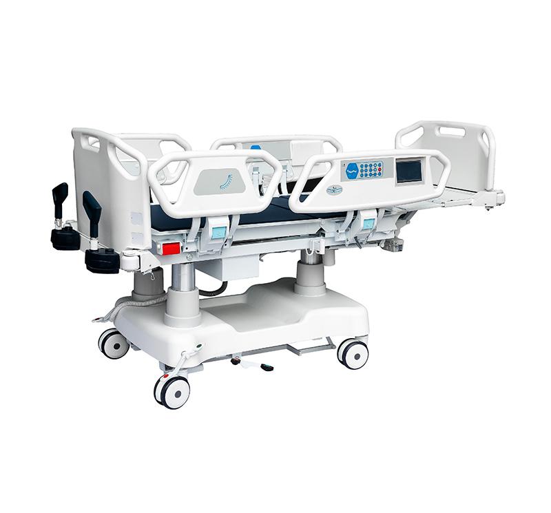 Cama de hospital electrica para uci  3 columnas YA-D8-2