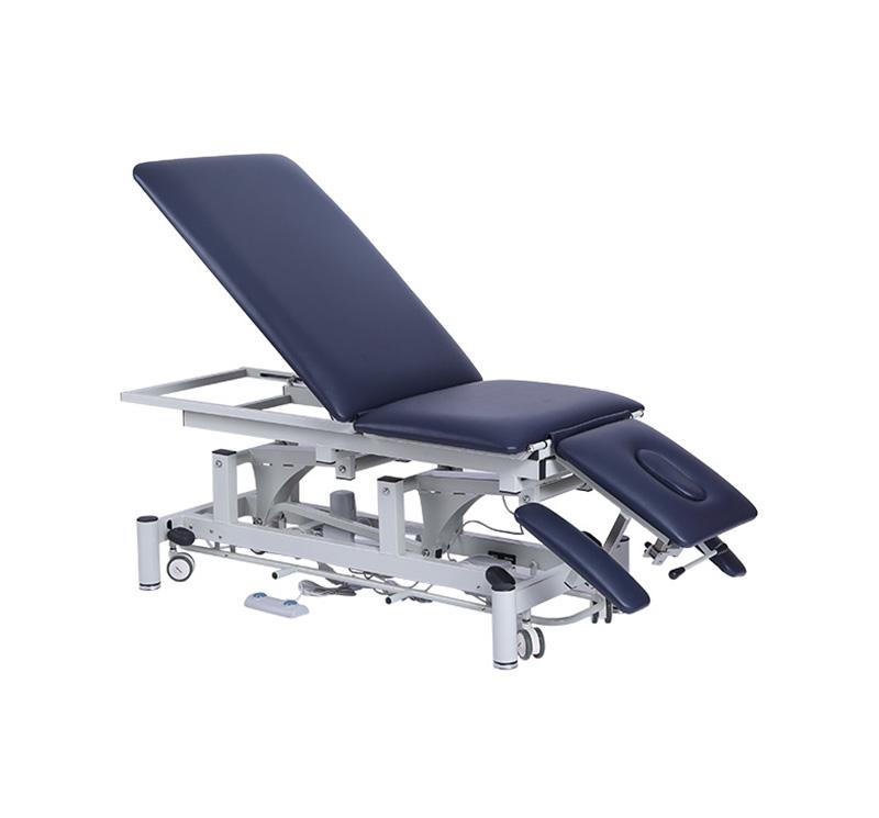 Camilla eléctrica de 3 cuerpos y 5 secciones para fisioterapia YA-ET-D03