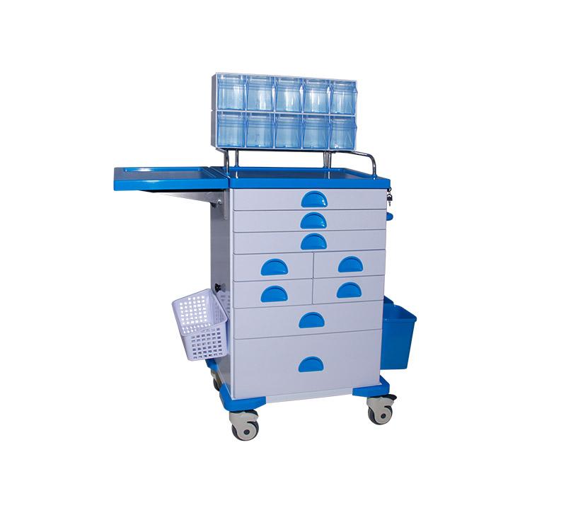 Carrinho de anestesia de uso hospitalario MK-C02