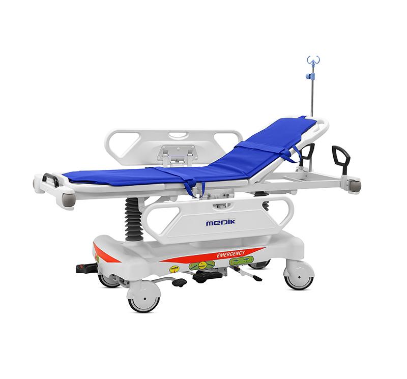 Carro camilla de transporte manual de altura variable  YA-PS04