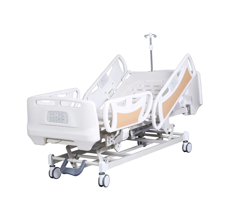 Cama de hospital eléctrica de 5 funciones YA-D5-1